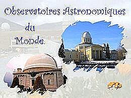 diaporama pps Observatoires astronomiques