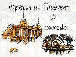 diaporama pps Opéras et théâtres du monde