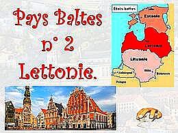 diaporama pps Pays Baltes – La Lettonie