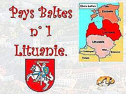 diaporama pps Pays Baltes – Lituanie