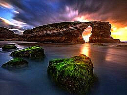 diaporama pps Playa de las catedrales spain
