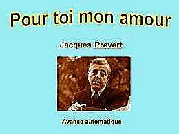 diaporama pps Pour toi mon amour