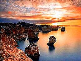 diaporama pps Praia da Marinha – Portugal