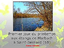 diaporama pps Printemps aux étangs de Marbach