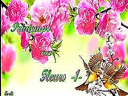 diaporama pps Printemps en fleurs I