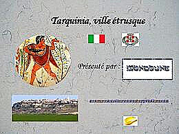 diaporama pps Promenade à Tarquinia