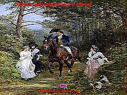 diaporama pps Promenade romantique à cheval