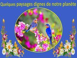 diaporama pps Quelques paysages dignes de notre planète