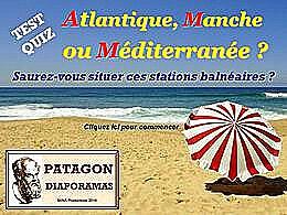 diaporama pps Quiz Atlantique ou Méditerranée