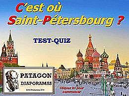 diaporama pps Quiz c'est où Saint-Pétersbourg