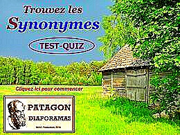 diaporama pps Quiz synonymes