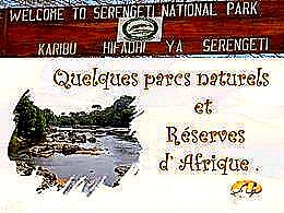 diaporama pps Réserves et parcs d'Afrique