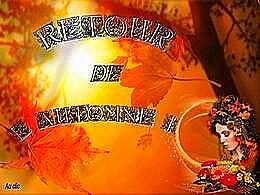 diaporama pps Retour de l'automne