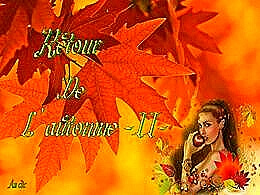 diaporama pps Retour de l'automne II
