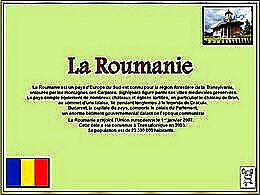 diaporama pps La Roumanie