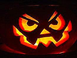 diaporama pps Sculpture des citrouilles à Halloween
