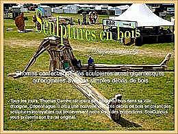 diaporama pps Sculptures en bois