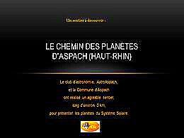 diaporama pps Sentier des planètes