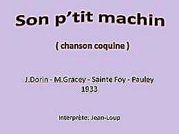 diaporama pps Son petit machin