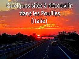 diaporama pps Souvenirs des Pouilles 1 – Italie