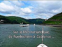 diaporama pps Sur le Rhin romantique