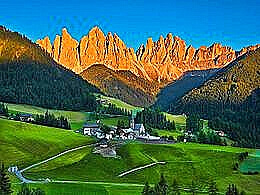 diaporama pps Trésor italien les Dolomites