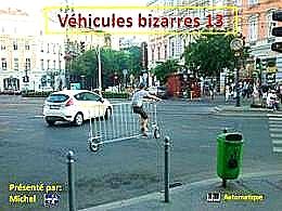 diaporama pps Véhicules bizarres 13
