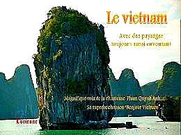 diaporama pps Vietnam paysages toujours aussi envoutants