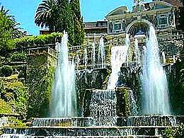 diaporama pps Villa d'Este à Tivoli – Italie