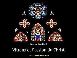 diaporama pps Vitraux et passion du Christ