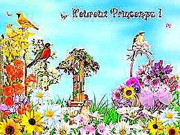 diaporama pps Vive le printemps