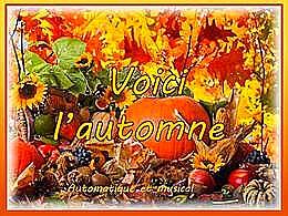 diaporama pps Voici l'automne