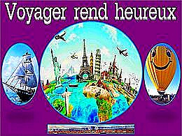 diaporama pps Voyager rend heureux