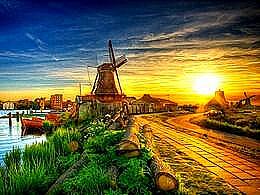 diaporama pps Zaanse Schans Netherlands