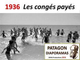 diaporama pps 1936 congés payés