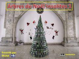 diaporama pps Arbres de Noël insolites 1