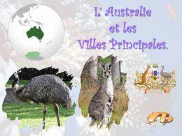diaporama pps Australie et les villes principales