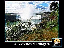 diaporama pps Aux chutes du Niagara