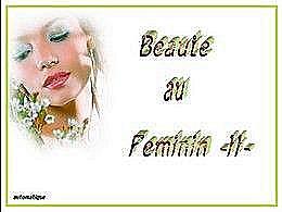 diaporama pps Beauté au féminin II