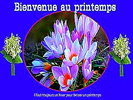 diaporama pps Bienvenue au printemps
