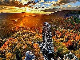 diaporama pps Bohemian switzerland national park czech republic