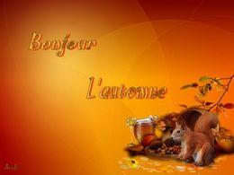 diaporama pps Bonjour l'automne