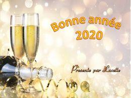 diaporama pps Bonne année 2020