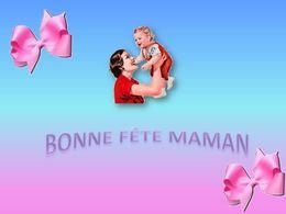 diaporama pps Bonne fête Maman 2019