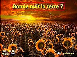 diaporama pps Bonne nuit la terre 7