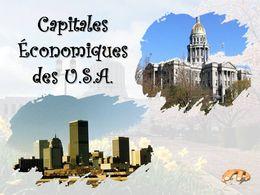 diaporama pps Capitales économiques des USA