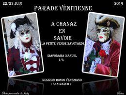 diaporama pps Parade vénitienne Chanaz partie 1