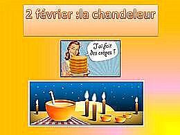 diaporama pps Chandeleur et crêpes