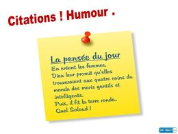 diaporama pps Citations humour