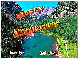 diaporama pps Colorado méconnu